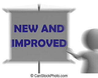 New And Improve Board Displays Innovation And Improvement