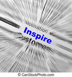 Inspire Sphere Definition Displays Motivation And Positivity