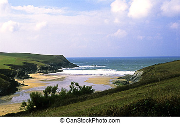 Porth Joke - Lovely sandy cove between Newquay and Holywell...