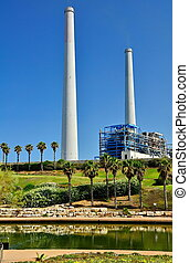 Power Plant Station in Israel - The Orot Rabin (formerly...