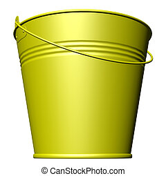 Bucket - The objects made at 3d