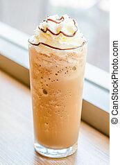 Mocha coffee frappe