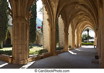 Bellapais Abbey - Northern Cyprus - The ruins of the Gothic...