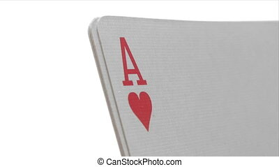 Four Aces - Close-Up - Canon HV30. HD 16:9 1920 x 1080 @...