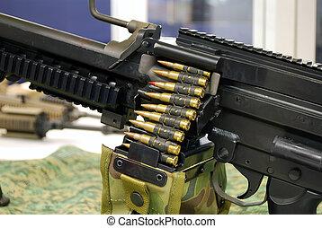 machine-gun detail