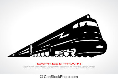 Train icon - Train vector icon