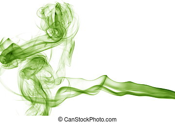 abstract smoke background - abstract smoke isolated on a...