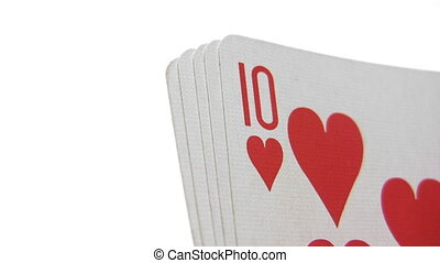Royal Flush - Close-Up - Canon HV30. HD 16:9 1920 x 1080 @...