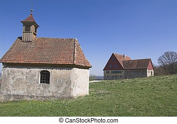 Chapell - Small chapell and Farmhouse