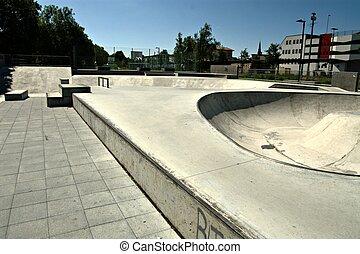 skatepark - Skatepark in Heidenheim.