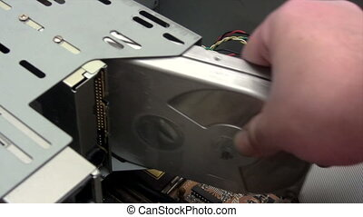Installing Hard Disk - Canon HV30. HD 16:9 1920 x 1080 @...