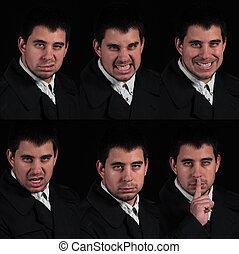 Multiple Male Portrait