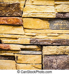 Rock wall - Close up abstract Rock wall background in the...