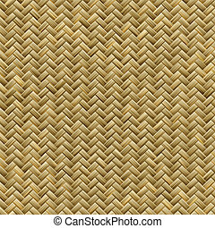 Basket weave pattern - Computer generated graphic design of...