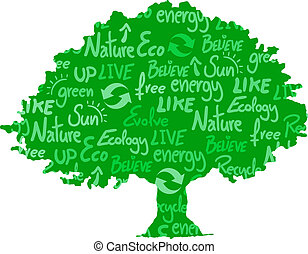 Eco tree - Creative design of eco tree