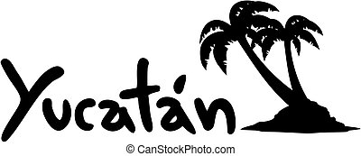 Yucatan palm - Creative design of yucatan palm
