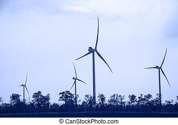 Wind energie.