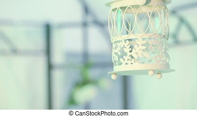 Decorative candlestick cell - Hanging decorative candle...