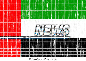 United Arab Emirates flag news - News information splash...