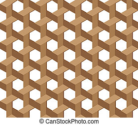 Wicker pattern seamless background