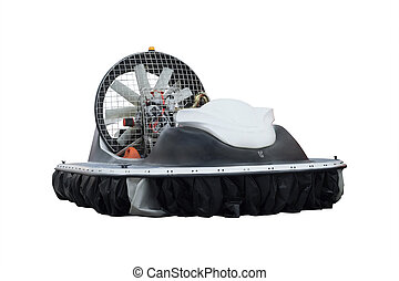 boat on an air cushion