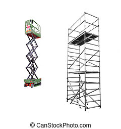 scaffold and lift