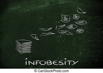information and data overload, organising knowledge and...