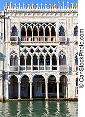 Ca D'Oro, a famous palace in Venice - Ca D'Oro, the venetian...