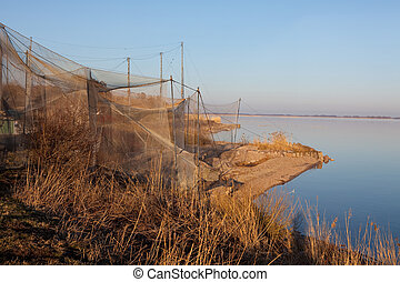 Heligoland trap in Vente Cape (Lithuania), one of the first...