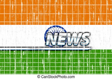 Flag of India news