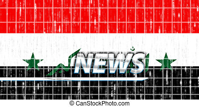 Flag of Iraq news - News information splash Flag of Iraq,...
