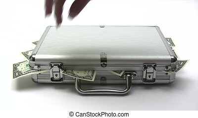 Opening Money Case - Canon HV30. HD 16:9 1920 x 1080 @ 25.00...
