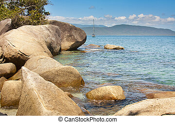 Fitzory Island - Tranquil Waters of Fitzory Island north...