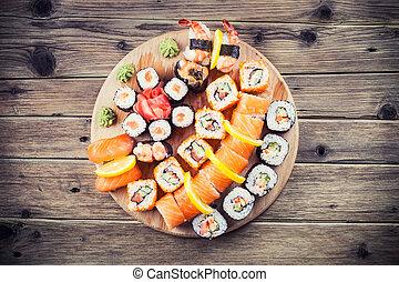 Sushi, Conjunto,  maki
