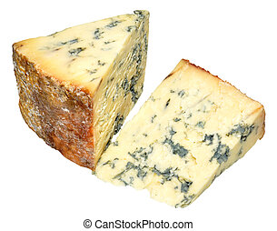 Blue Stilton Cheese - Traditional blue stilton cheese with...
