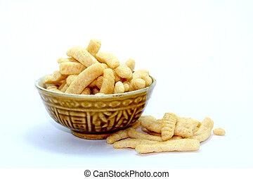 Delicious snack food