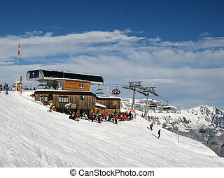 Cable car station - Terminal station of the cable car in...