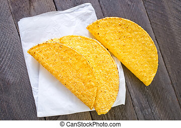 taco or tortilla shells
