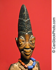 African statue Congo collection