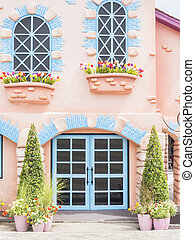 Bright color windows and door - Bright colorl windows and...
