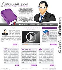 website template 68 - Website template design along with...