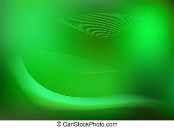Apple green blur background