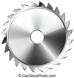 Saw Blade - Illustration Saw Blade . Icon. Vector. eps 10.