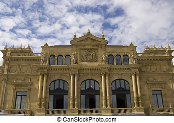 Victoria Eugenia Theatre in San Sebastian. Spain - Victoria...