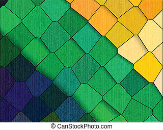 Abstract colorful background template - Vector illustration