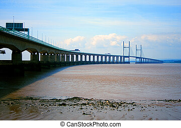 Second Severn Crossing - The Second Severn Crossing bridge,...
