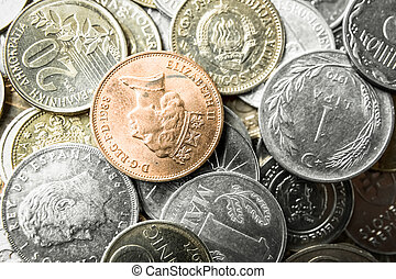old coins - many old European coins withdrawn from...