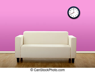 Comfortable sofa - Picture of a house with a sofa in the...