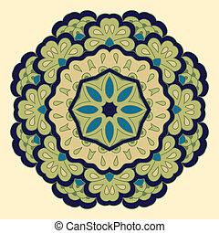 Arabesque. Decorative element. - Arabesque. Decorative...