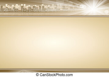 Business Concept Background Beige